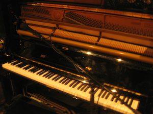 ピアノも多めにいこうかと。